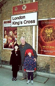 Platform for Hogwarts Express
